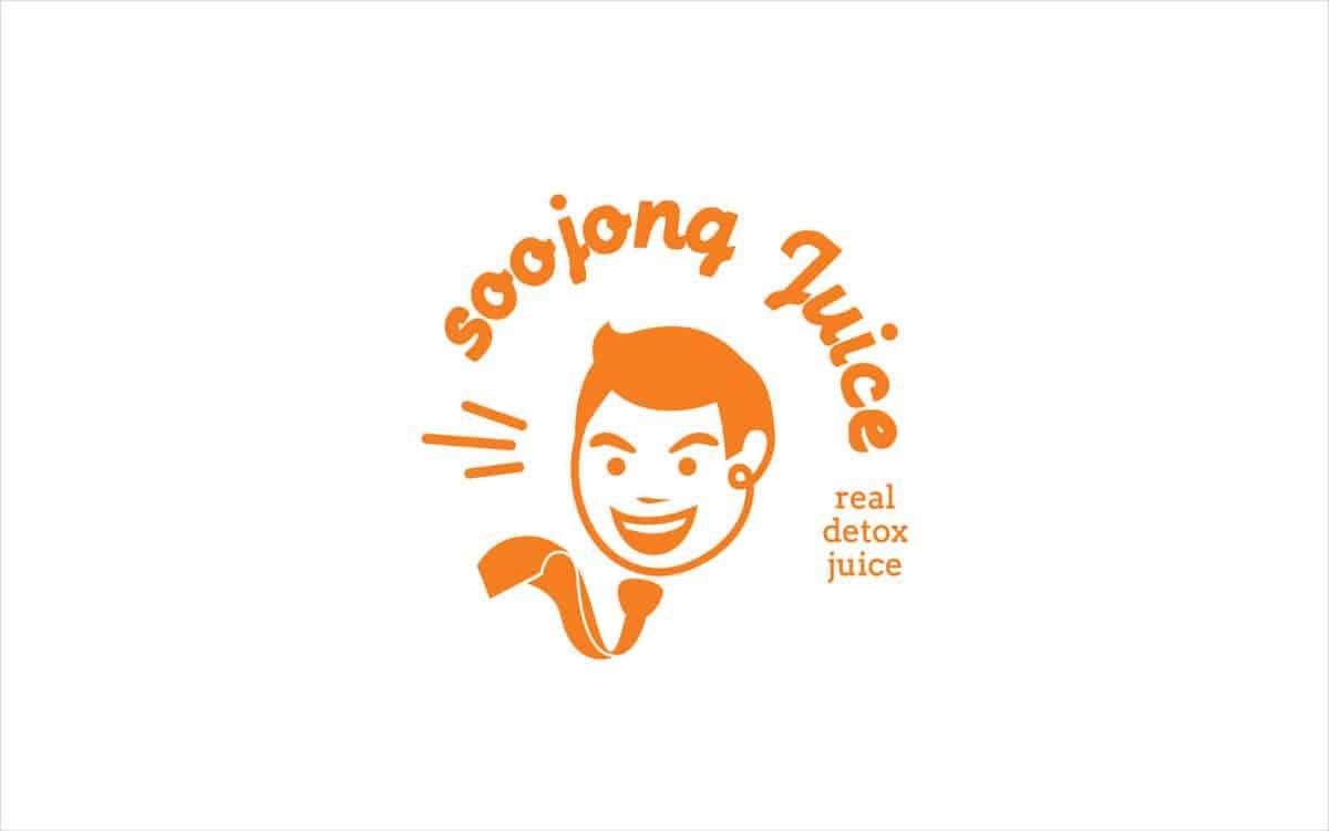 果汁LOGO商標標誌設計-韓式