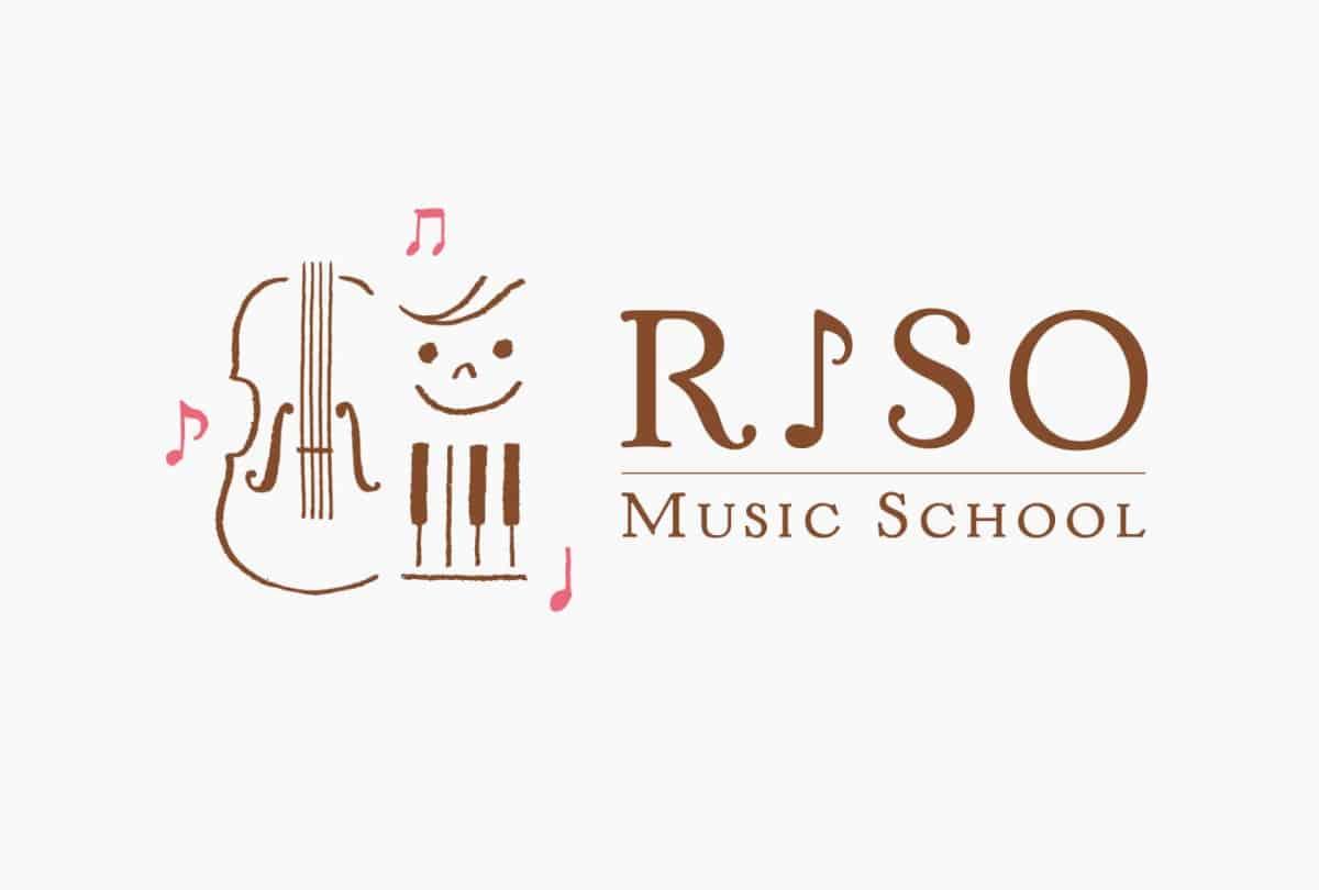 日式LOGO設計-日本音樂教室設計案例作品集