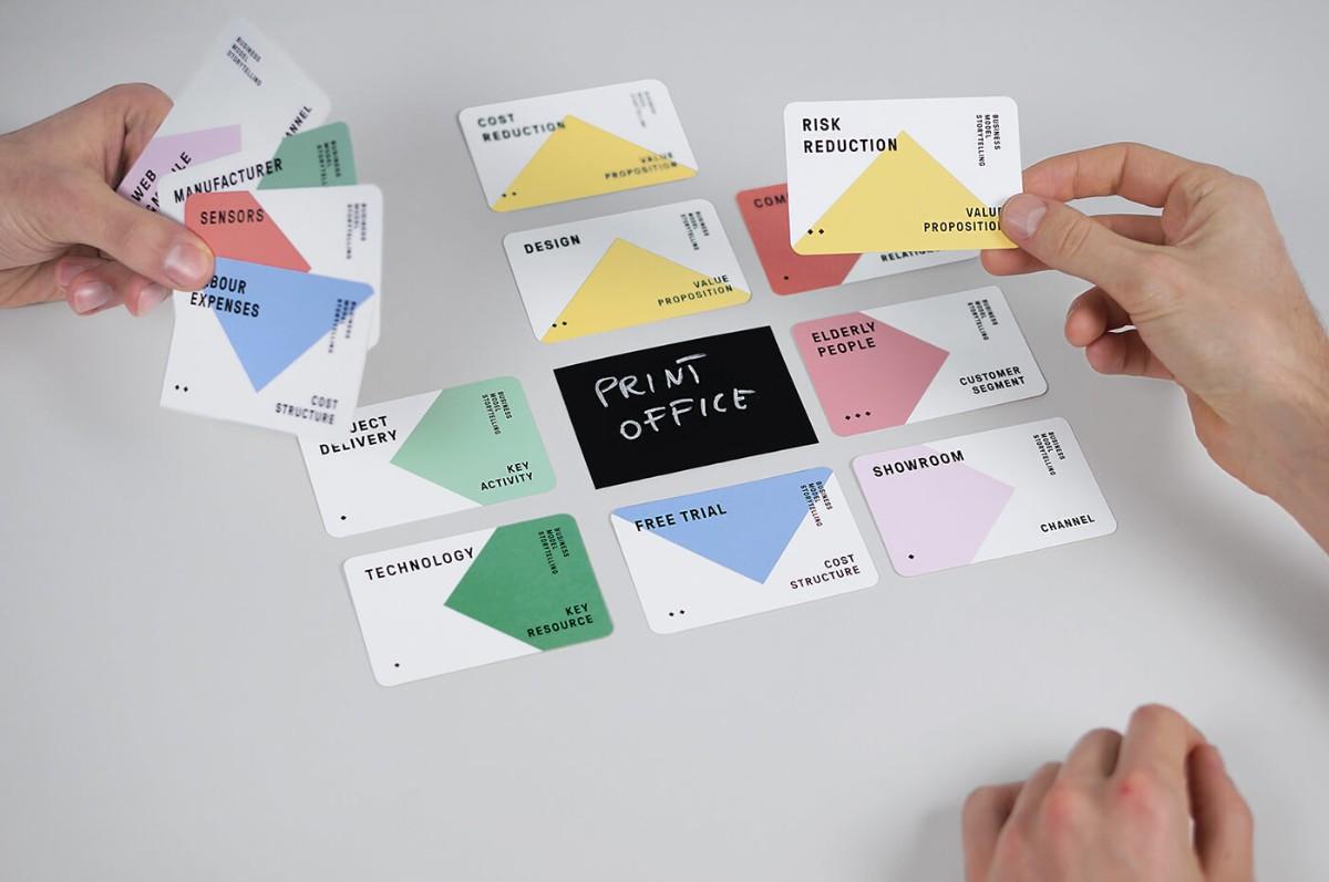 彩色名片設計案例
