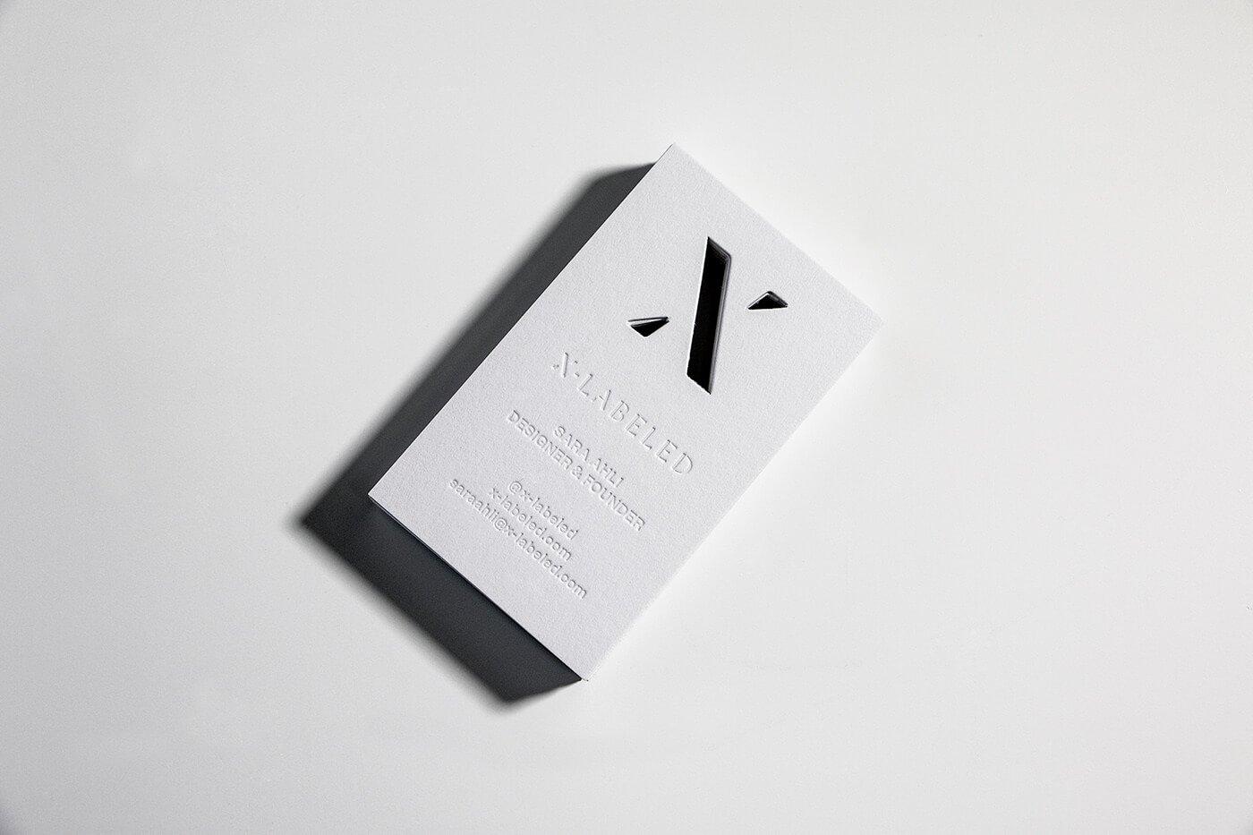 名片設計真心推薦-白色主題