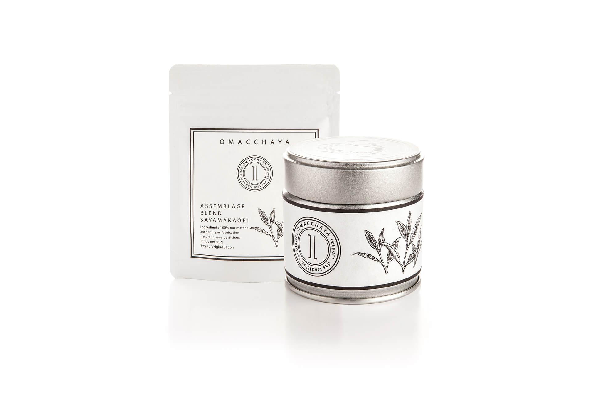 抹茶/茶葉包裝設計(日式品牌)