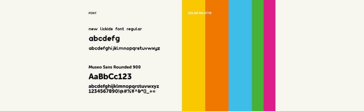 創意視覺系統LOGO標準色和LOGO標準字設計