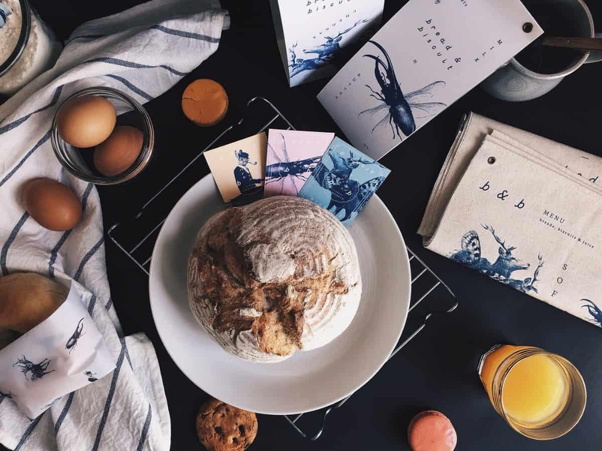麵包甜點-名片設計案例