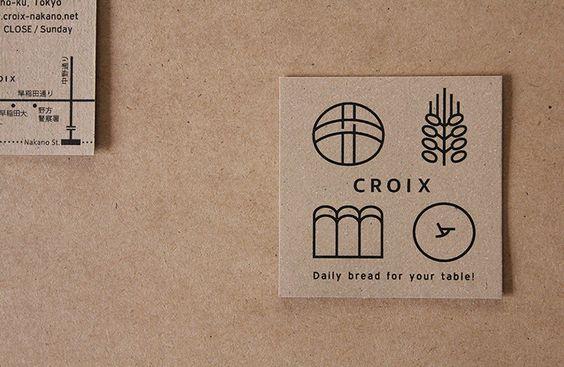 質地厚實、簡潔風格的名片設計