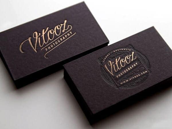 設計工作室品牌名片設計