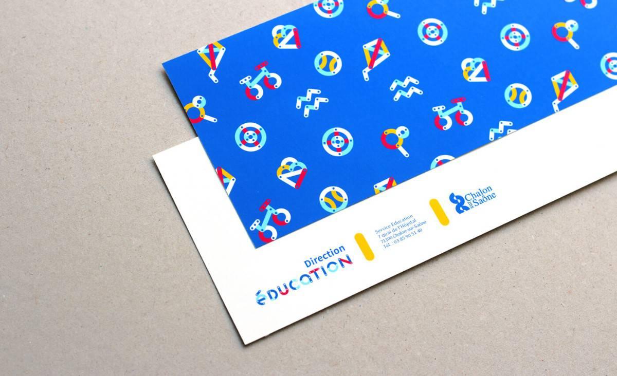 教育機構的信封信紙設計案例推薦