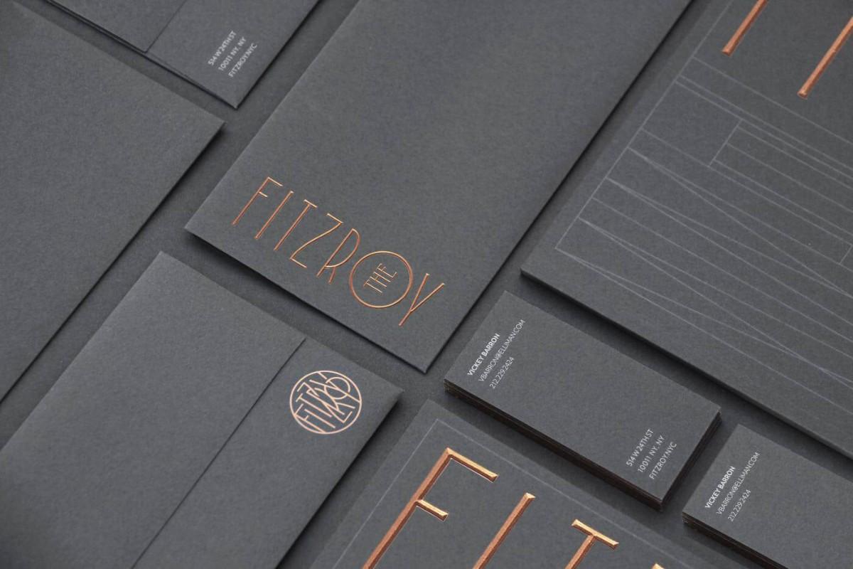黑卡 名片設計建議樣式