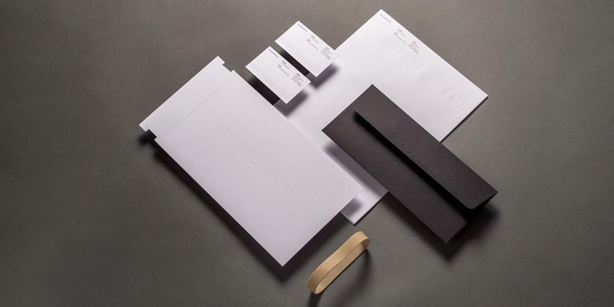名片設計/信封信紙設計