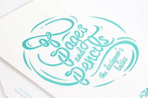 凸版印刷 名片設計(特別色)