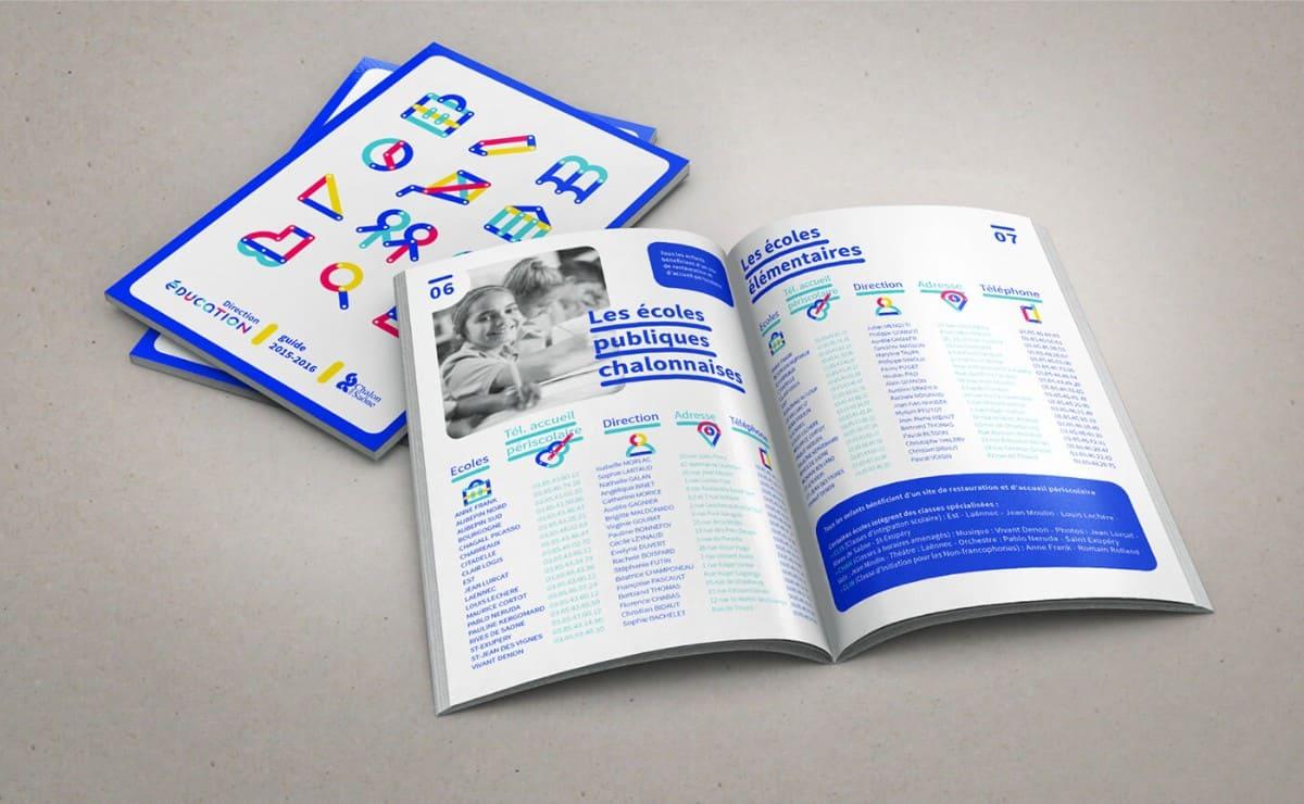 教育型錄設計