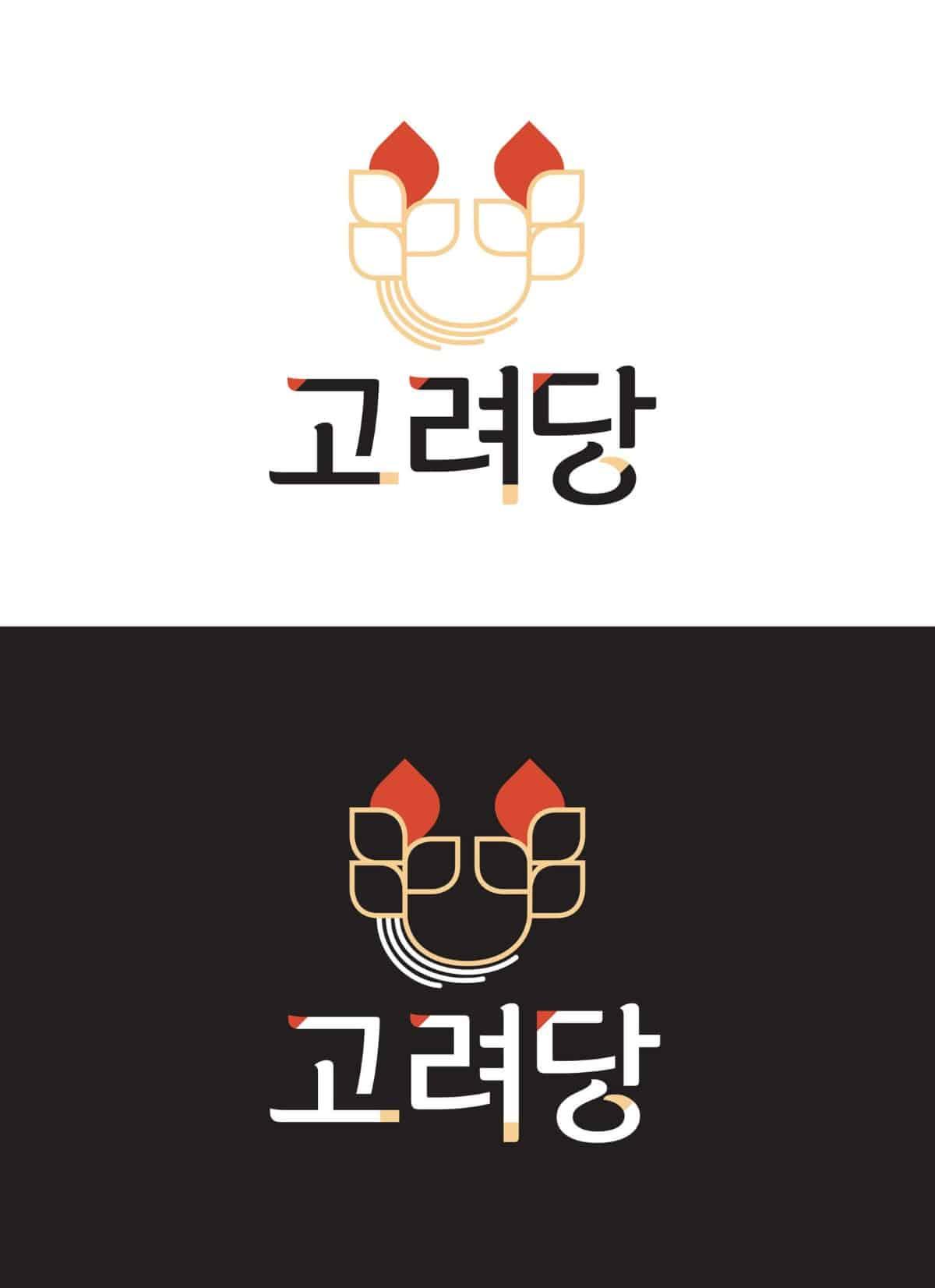 韓式食品/麵包店logo設計