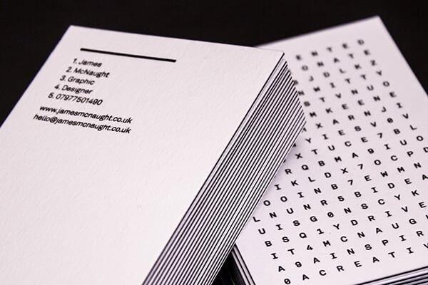 質感推薦 - 名片設計作品案例