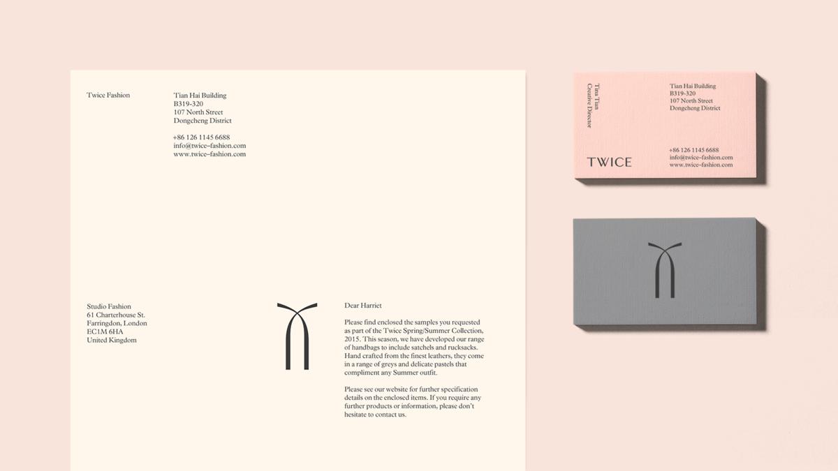 典雅名片設計案例分享