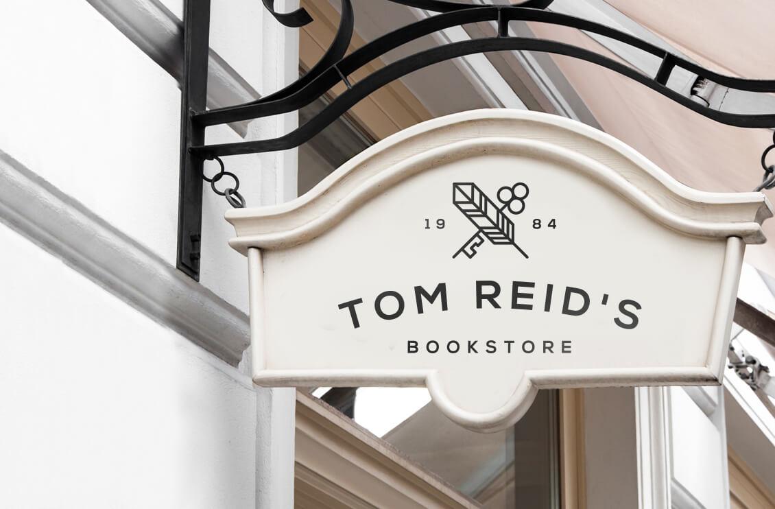 書店商標設計
