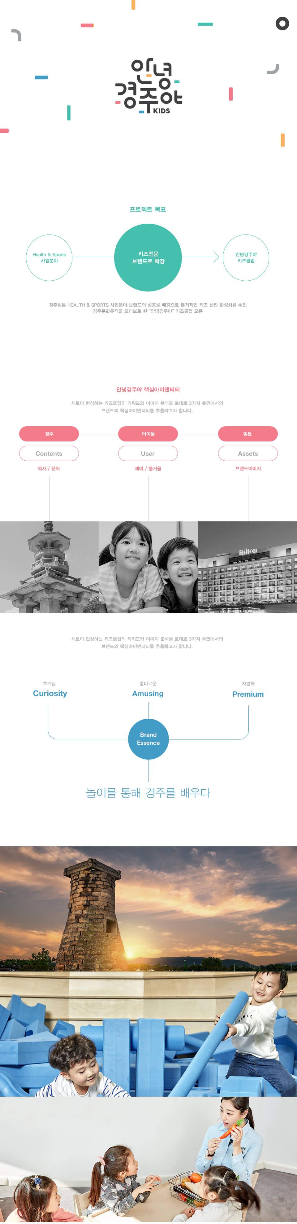 韓國國際飯店兒童俱樂部LOGO設計