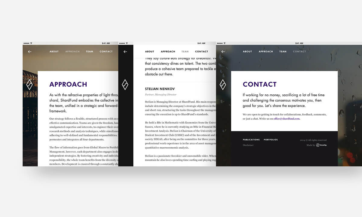 金融業 網頁設計