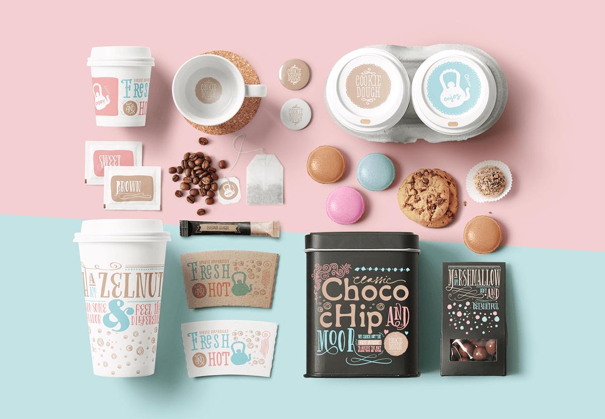 視覺設計範本-甜點、咖啡