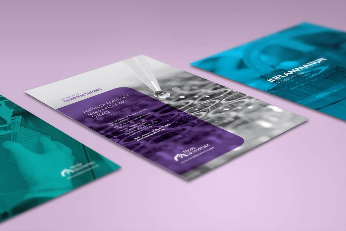 名片設計案例-保健品牌、研究/生技研究中心