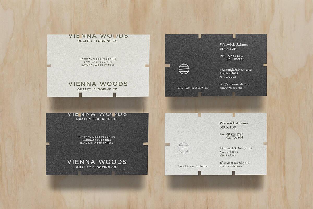 名片設計作品推薦:室內設計/木地板
