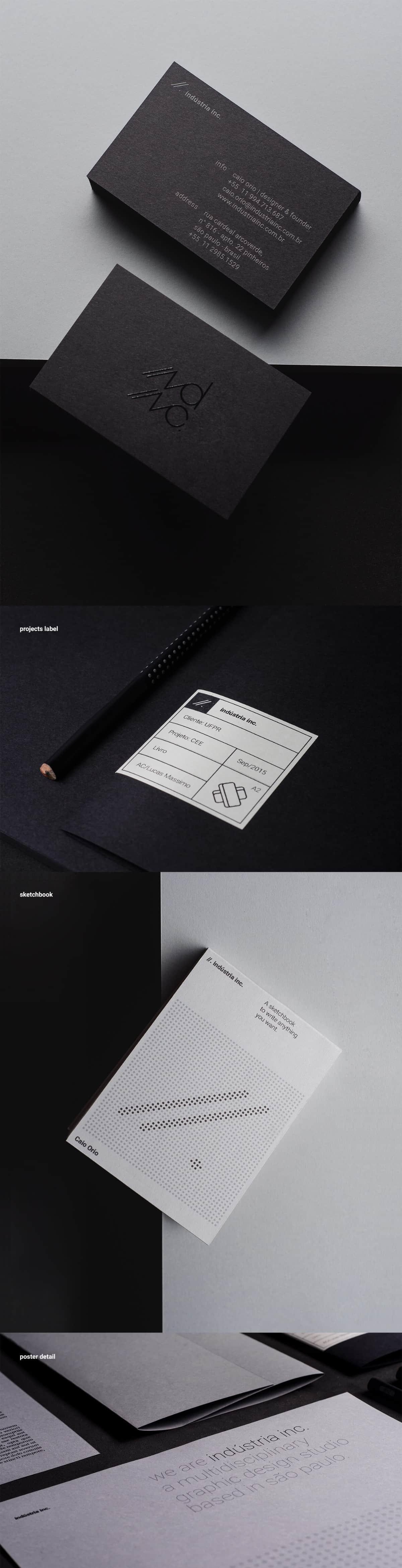 平面設計工作室名片設計範本