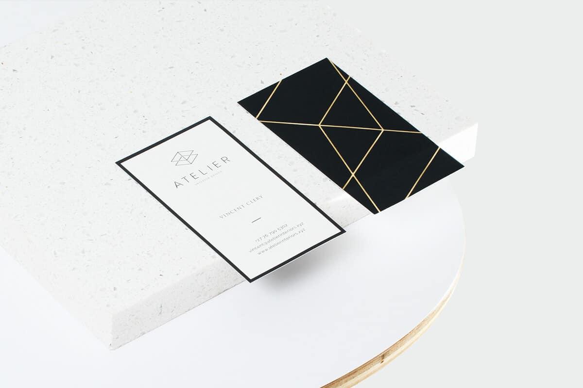 室內設計工作室/空間設計名片設計