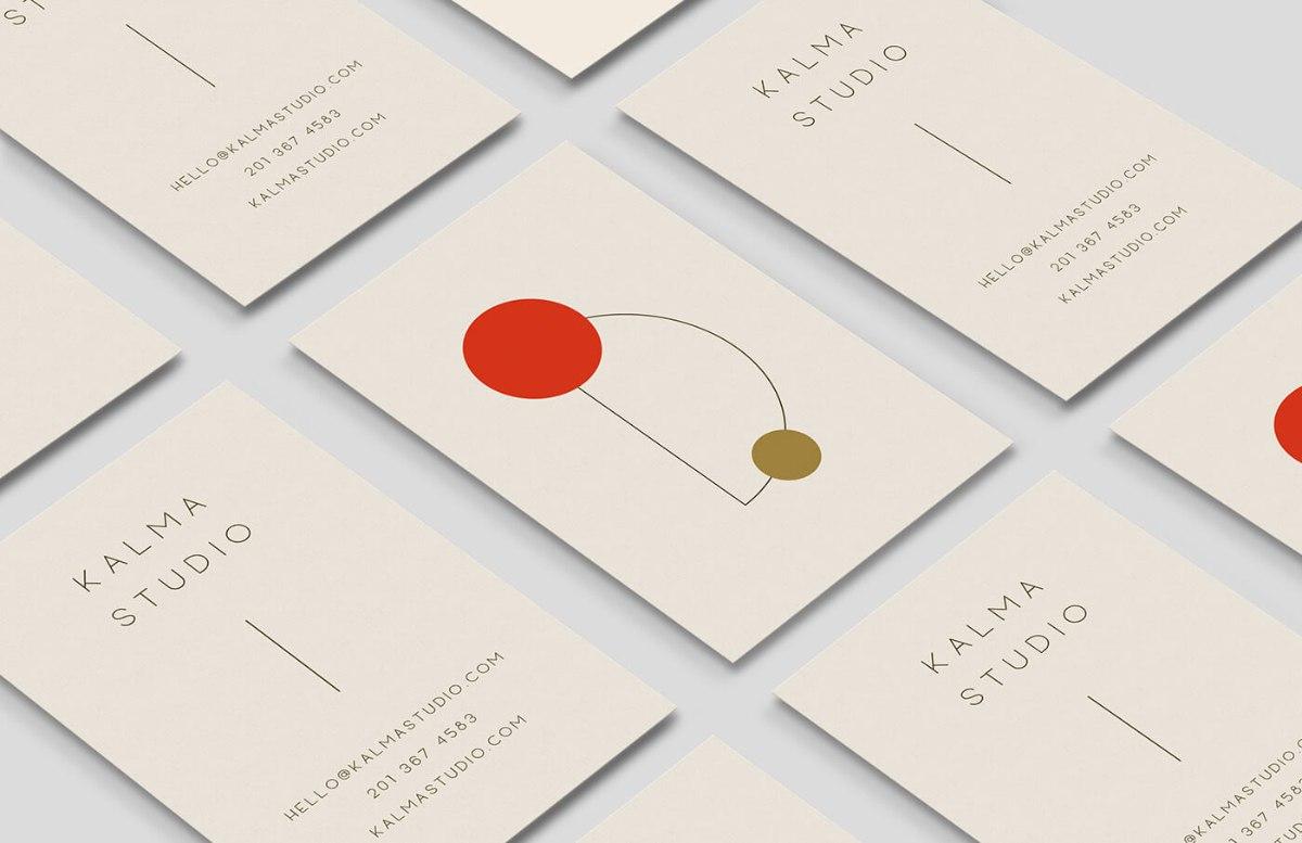 日式名片設計-極簡