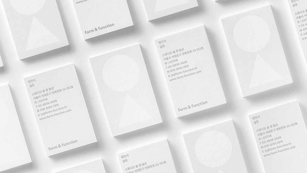 韓式設計工作室-名片設計案例