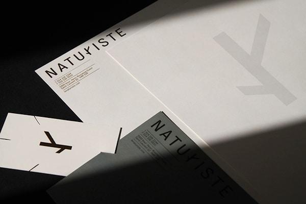 創意名片設計-黑白配色