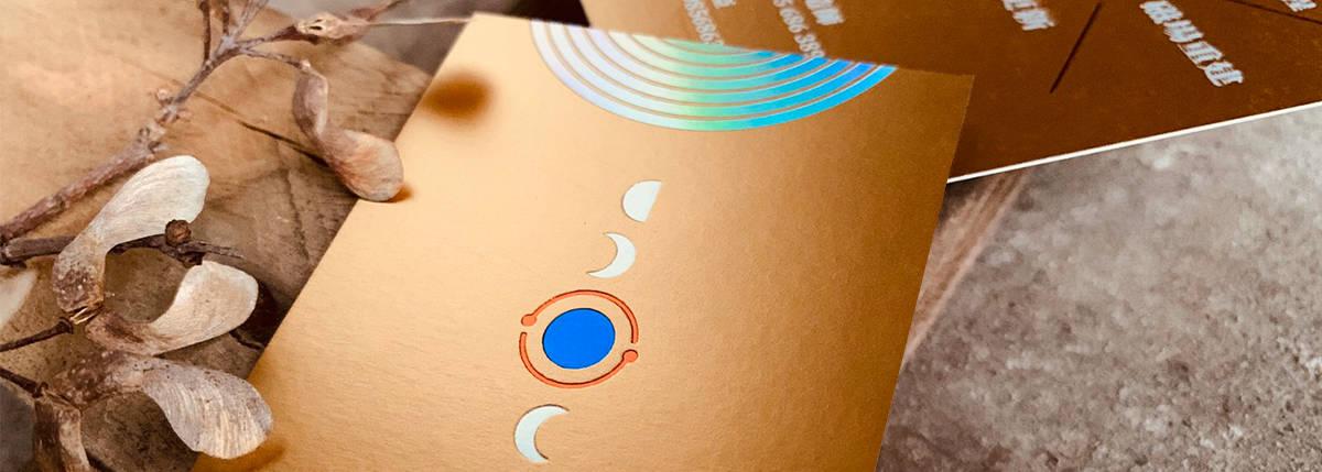 風水、淨化磁場名片設計
