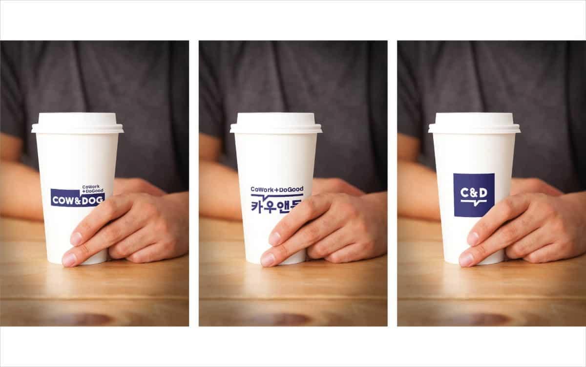 紙杯設計-韓國工作室作品