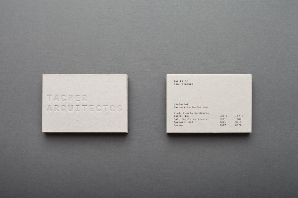 名片設計-簡潔風格(室內設計)