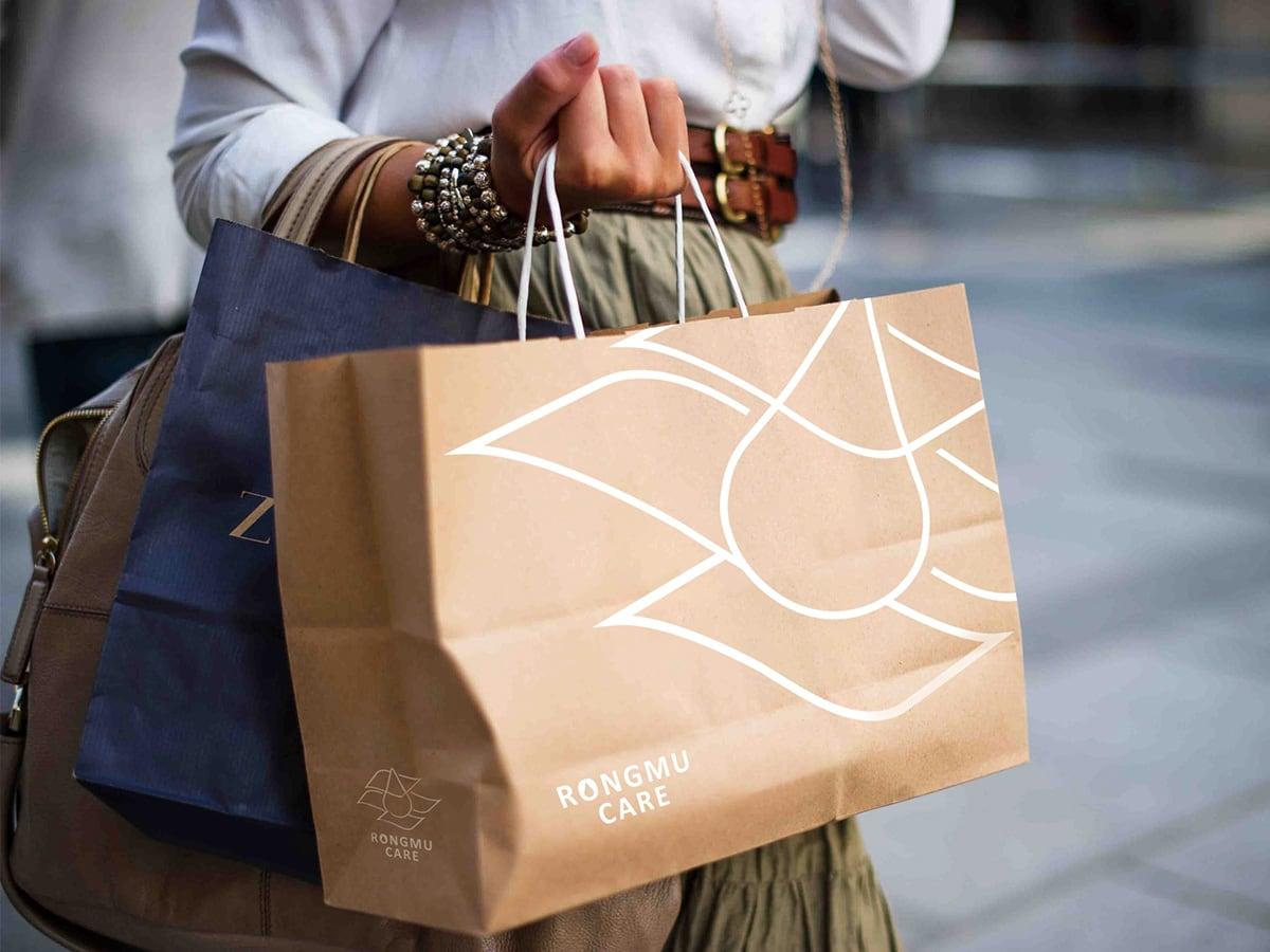 護膚、保養品紙袋設計