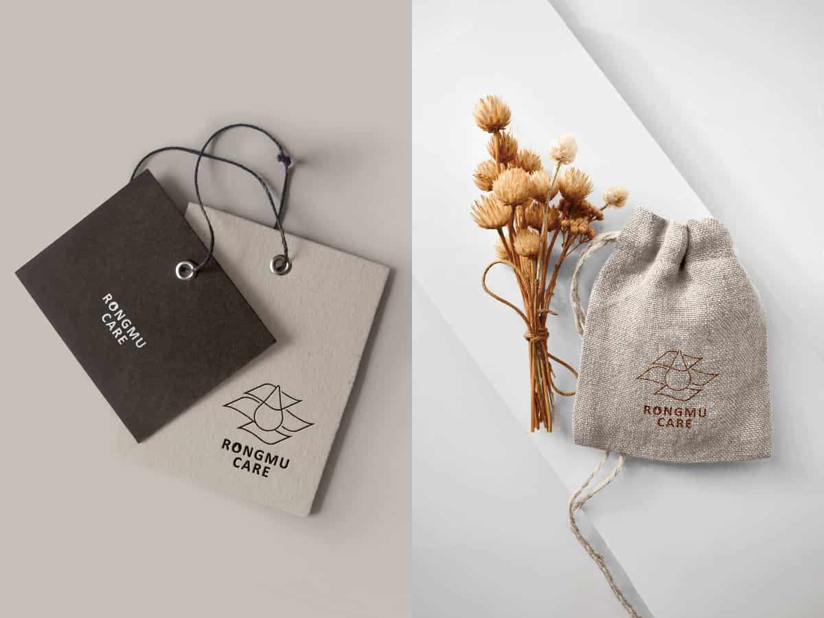 標籤、麻布袋品牌設計
