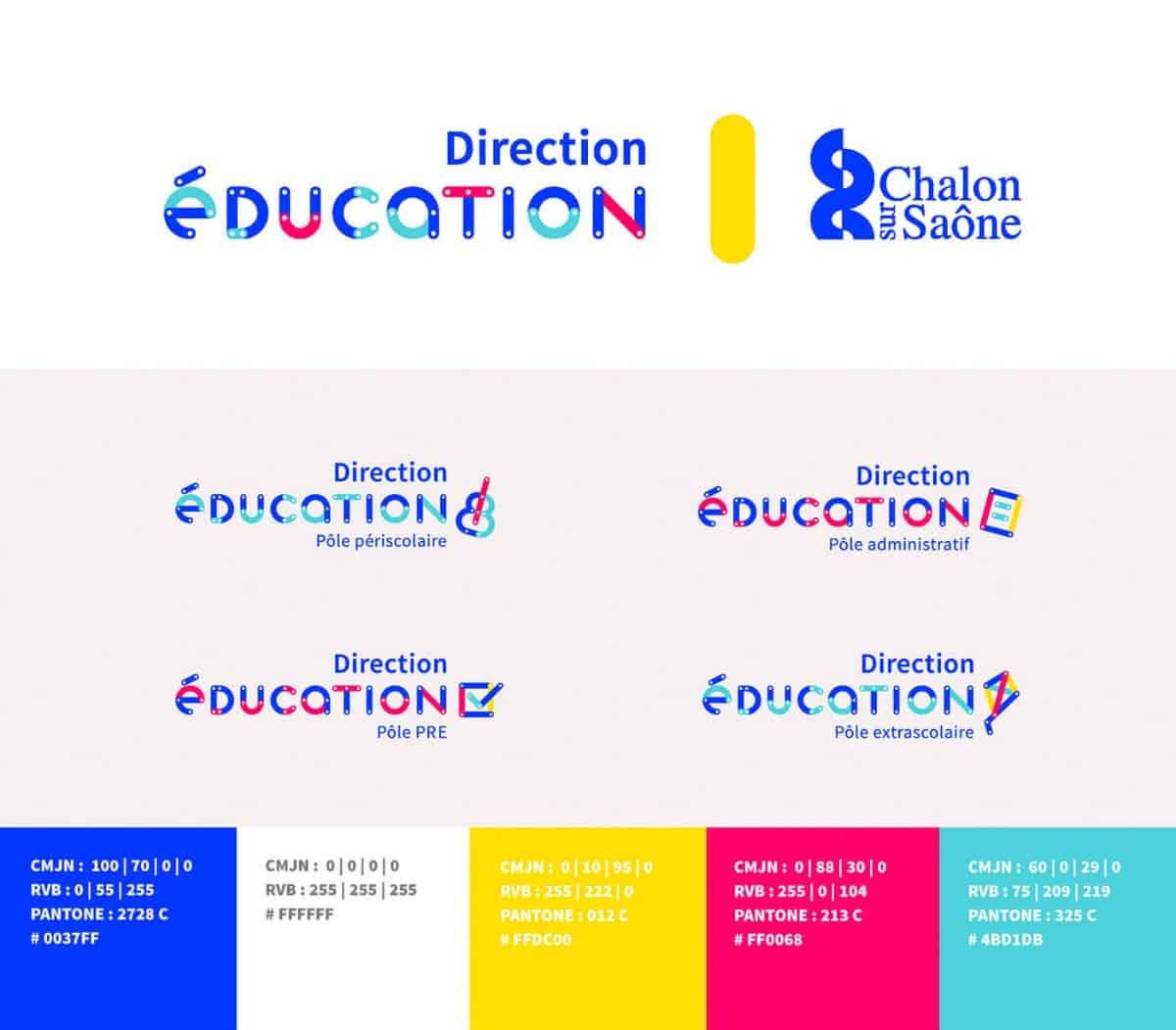 國外教育局的CIS創意商標作品
