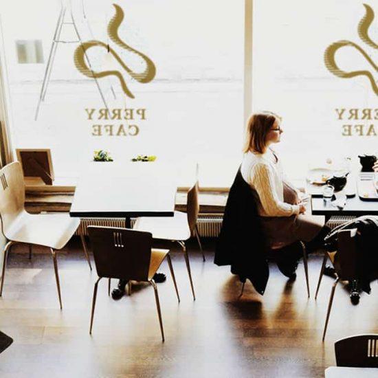 咖啡廳LOGO設計-室內空間示意