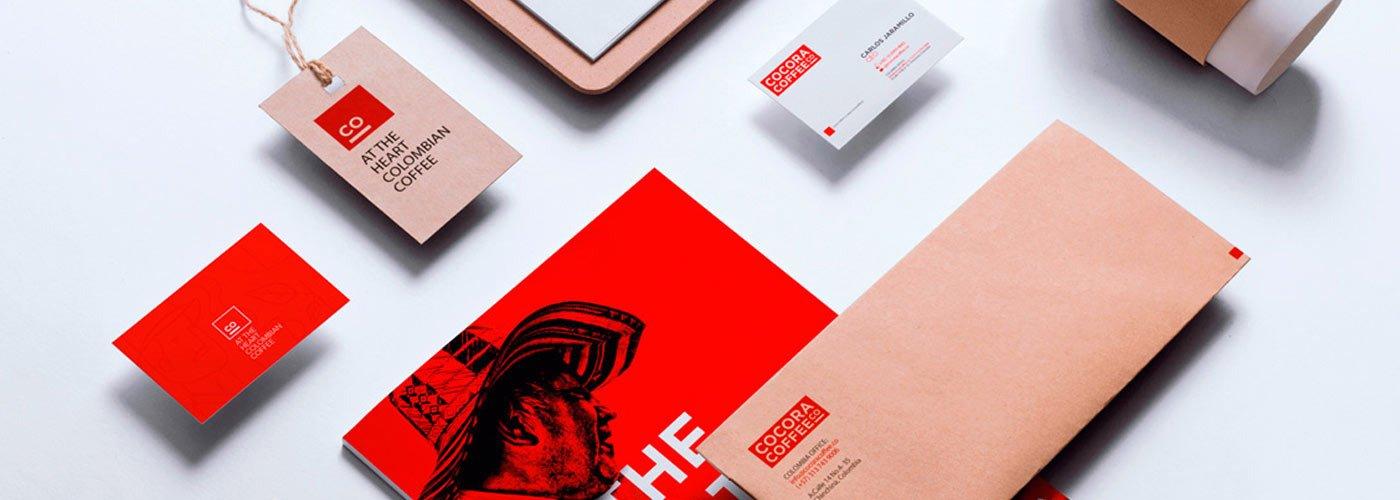 COCORA 咖啡的LOGO設計與品牌識別