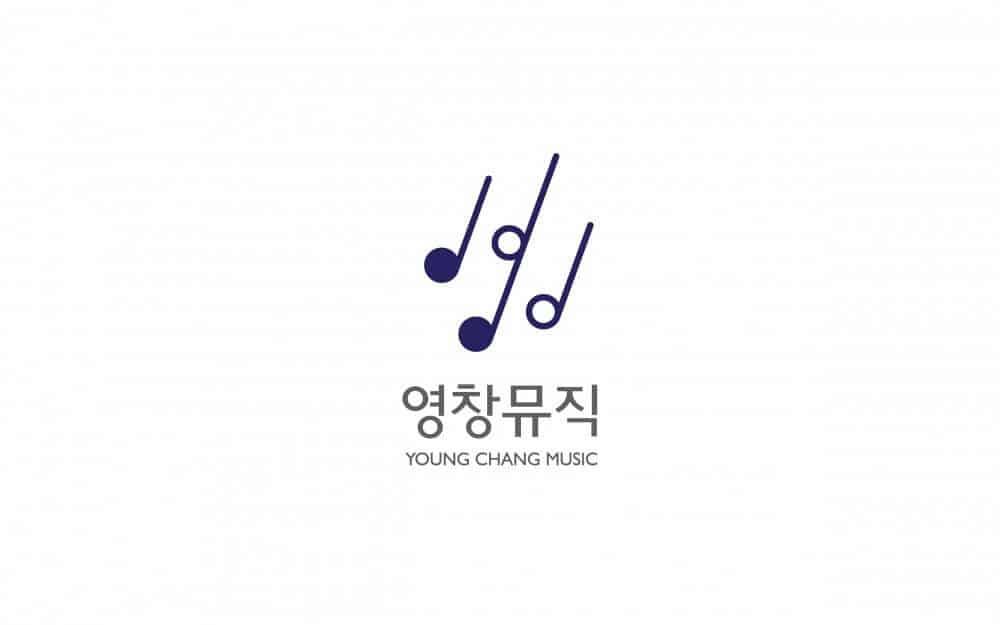 韓國音樂logo商標設計