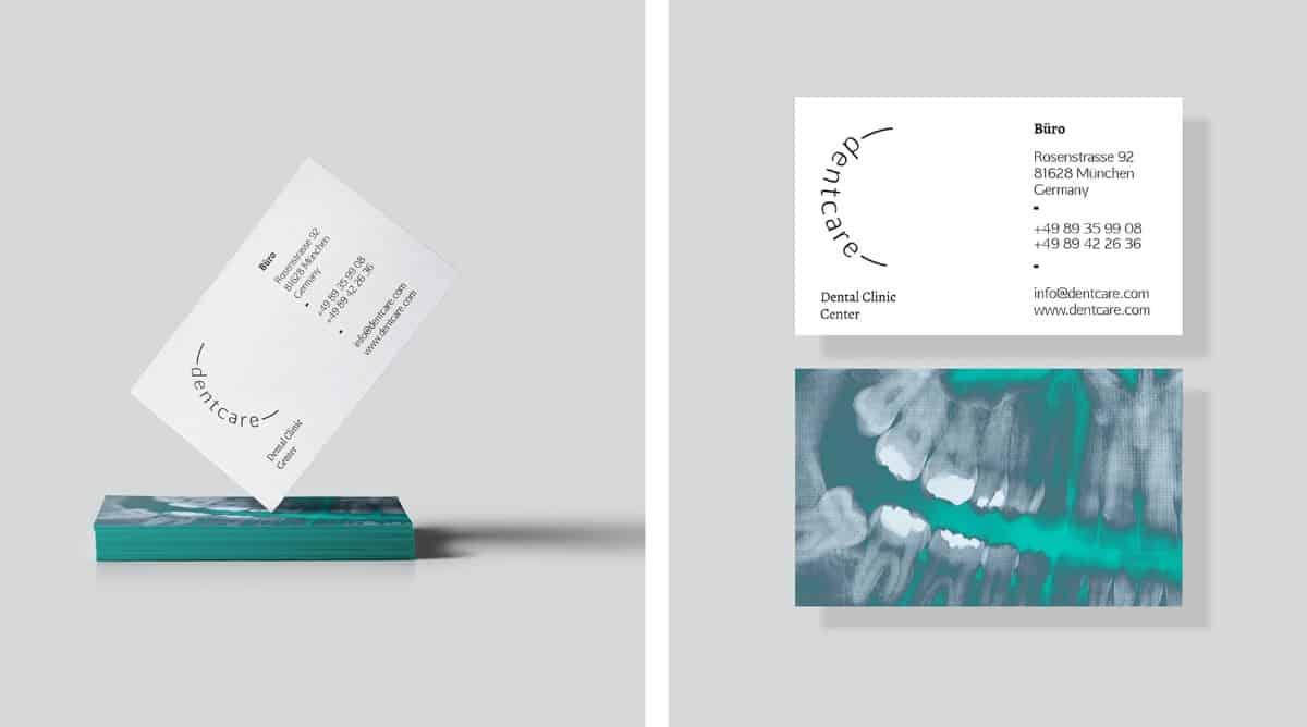 名片設計-牙醫診所