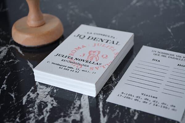 齒科診所-名片設計範本