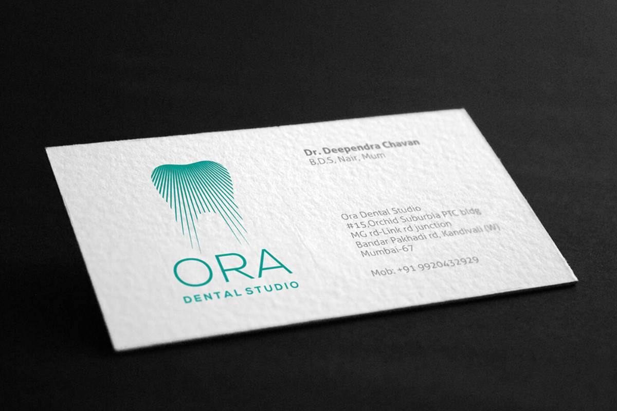 牙科診所-高質感創意名片設計推薦