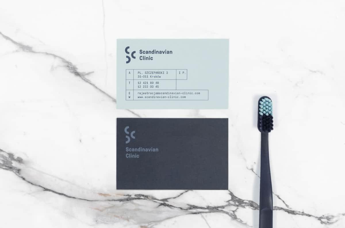 名片設計作品-牙醫診所