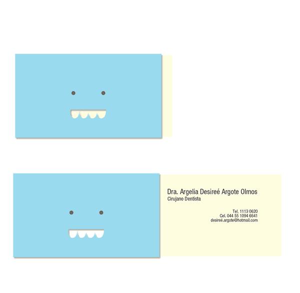 創意互動名片設計-牙醫