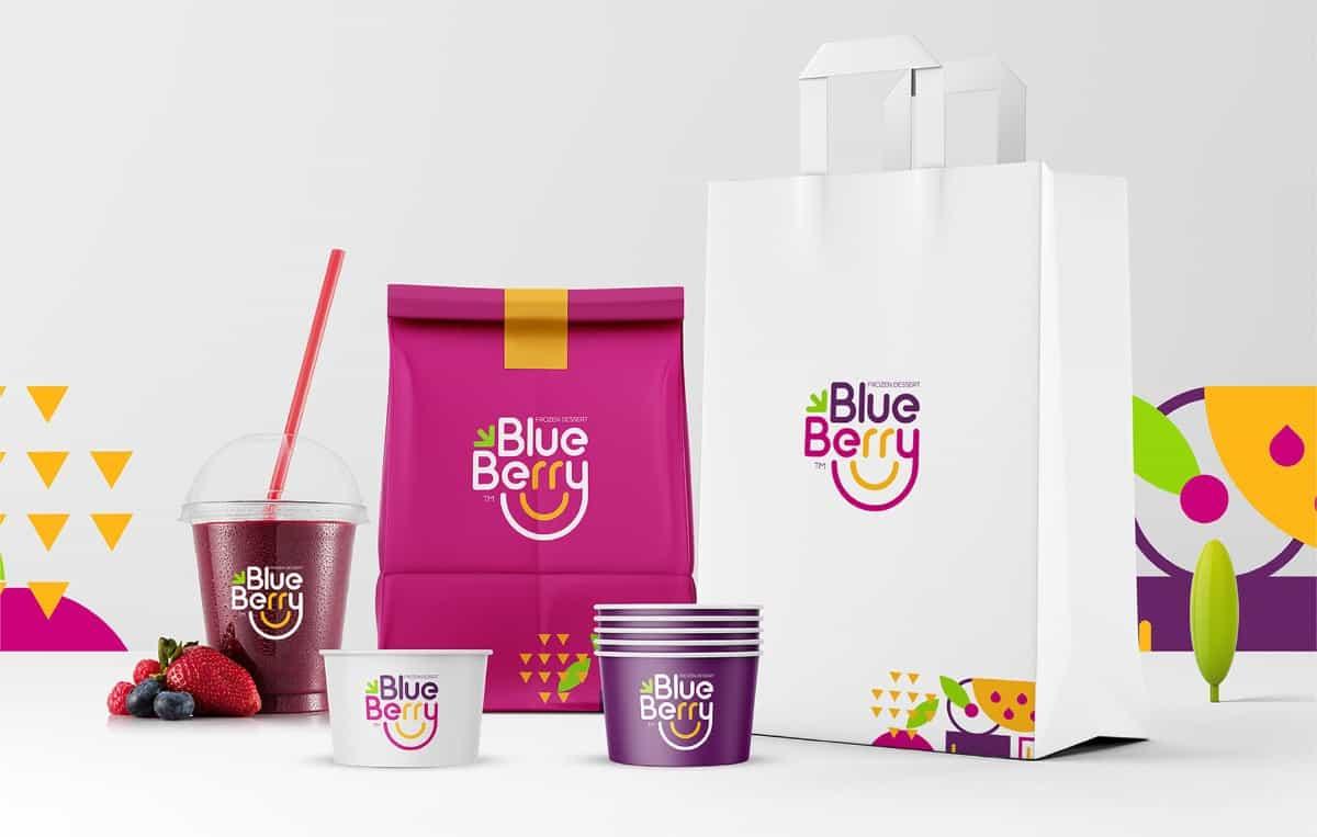 水果冰品LOGO級包裝設計