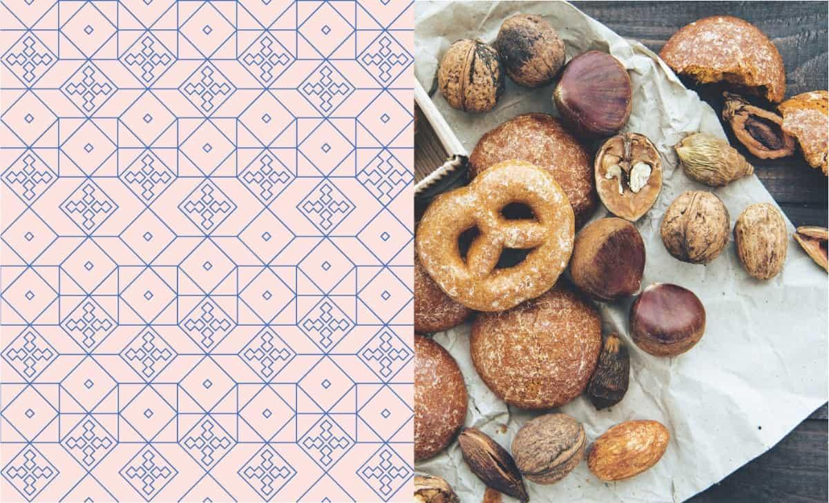 幾何圖形設計-麵包