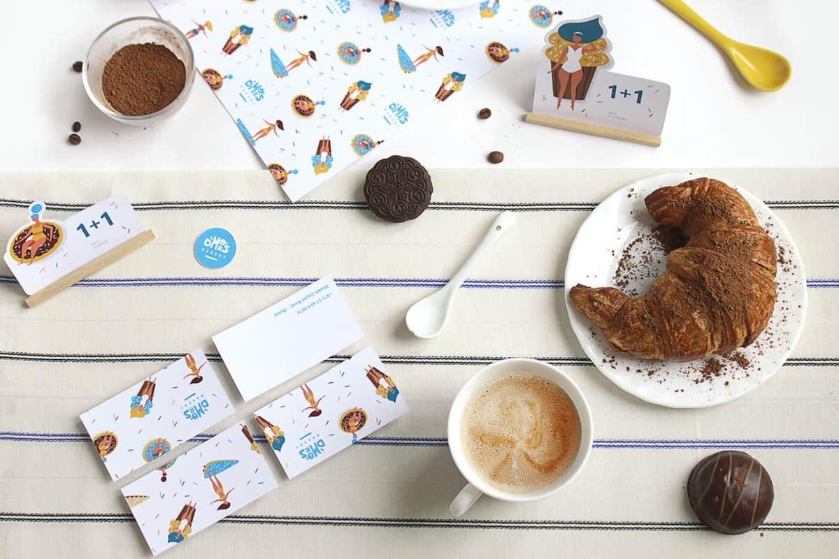 咖啡廳品牌的LOGO設計