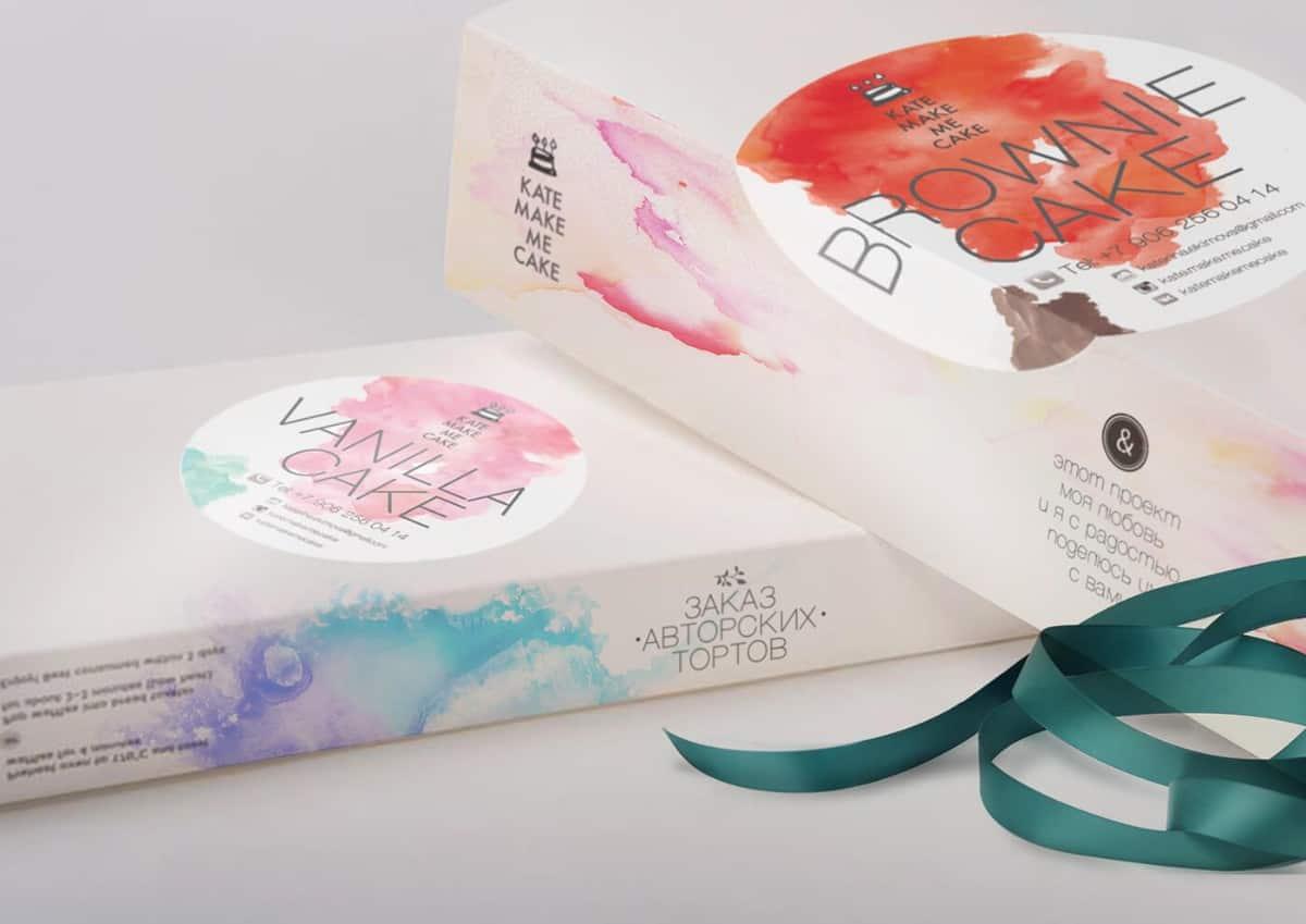 包裝設計-蛋糕品牌