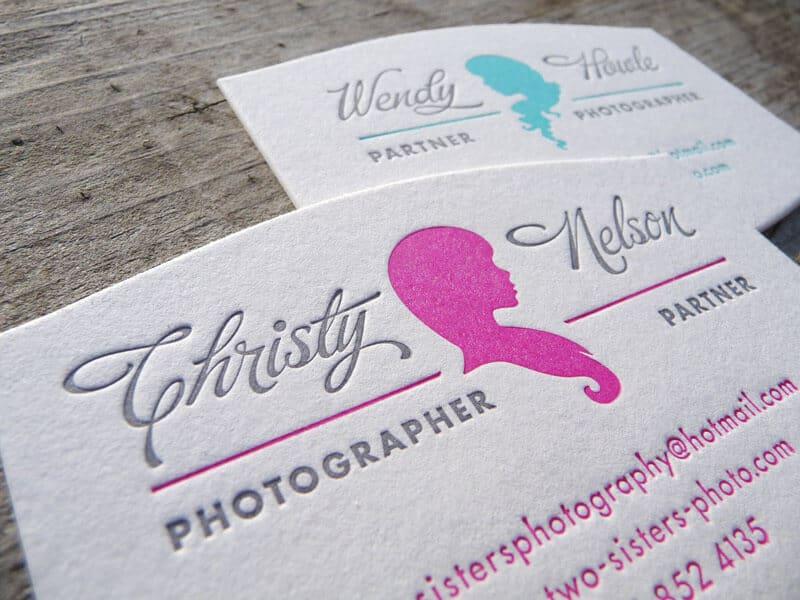 攝影師的名片設計-凸版印刷案例