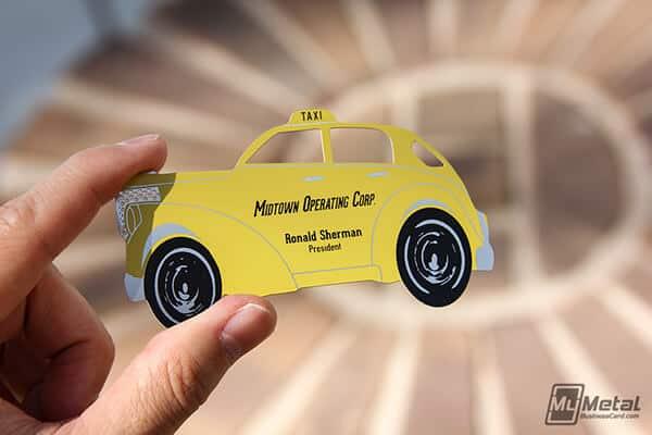 計程車的名片設計