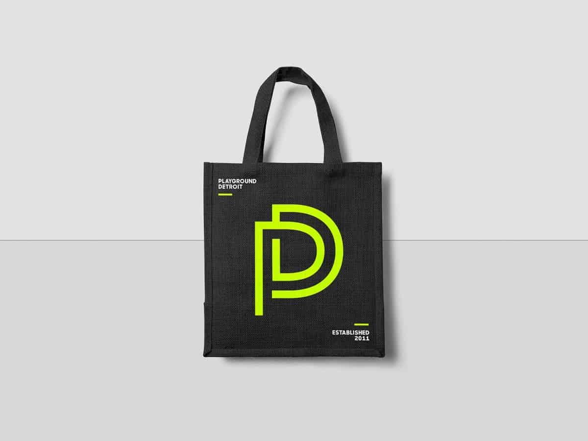 藝術展演空間LOGO設計-提袋
