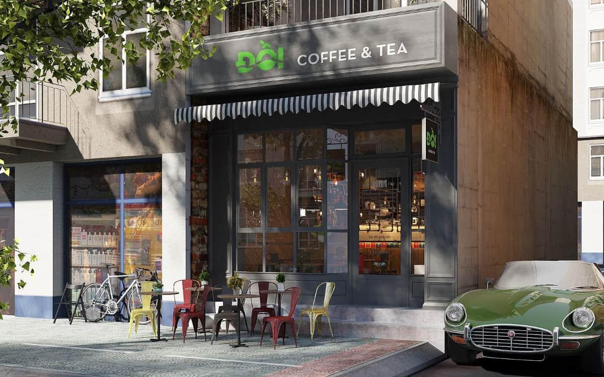 咖啡館品牌/店面外觀